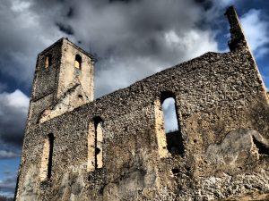 Katarínka church ruine