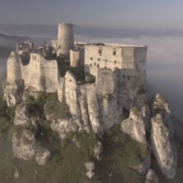 Breathtaking video of magnificient Spiš Castle