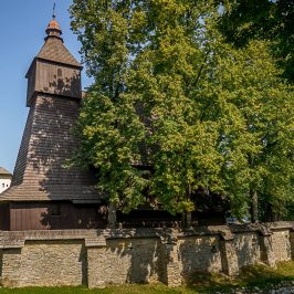UNESCO church in Hervartov