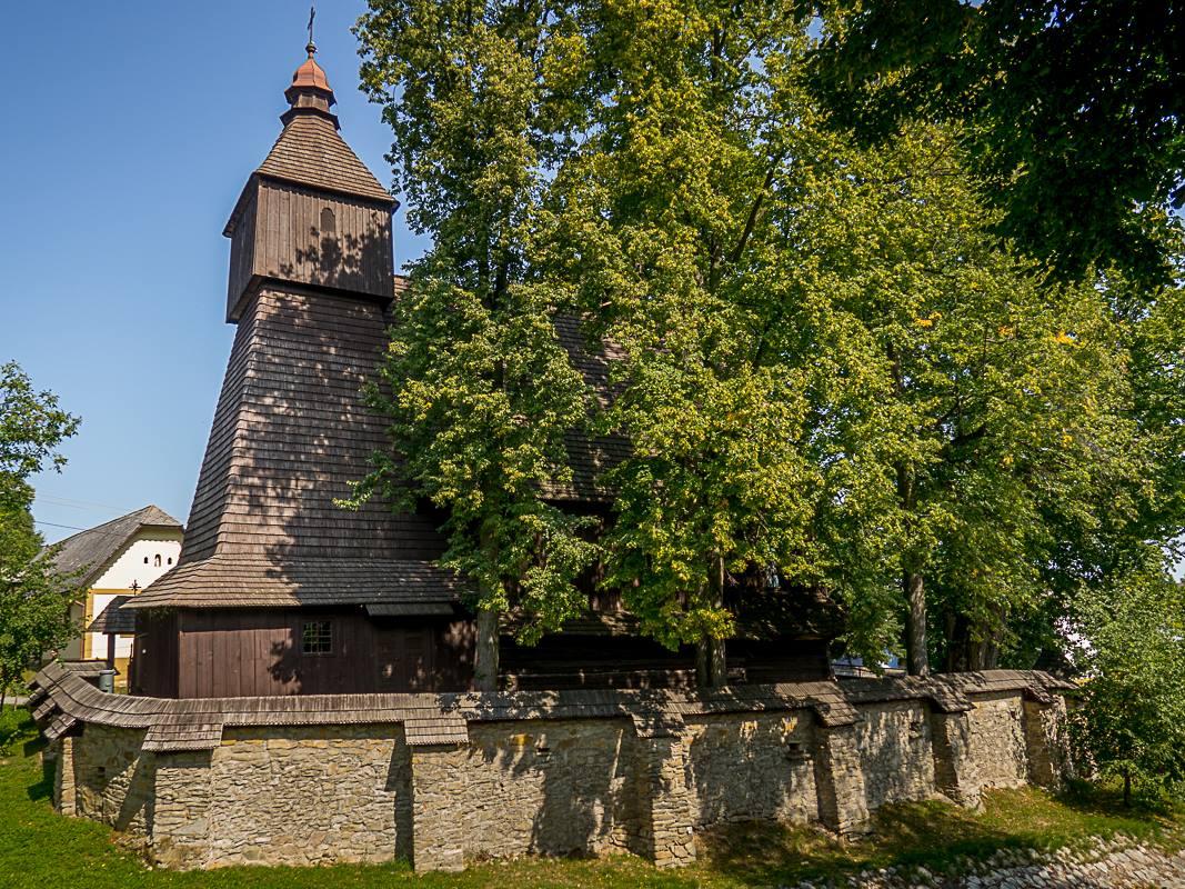 UNESCO church in Hervartov