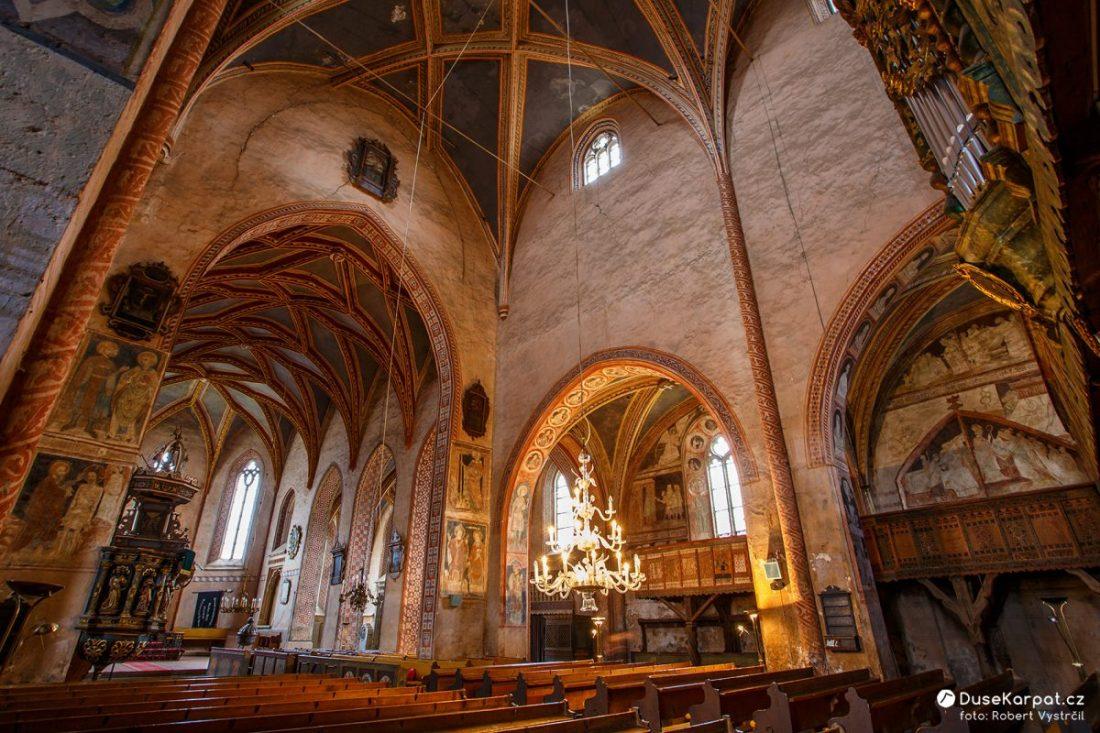 Evanjelický gotický kostol v Štítniku